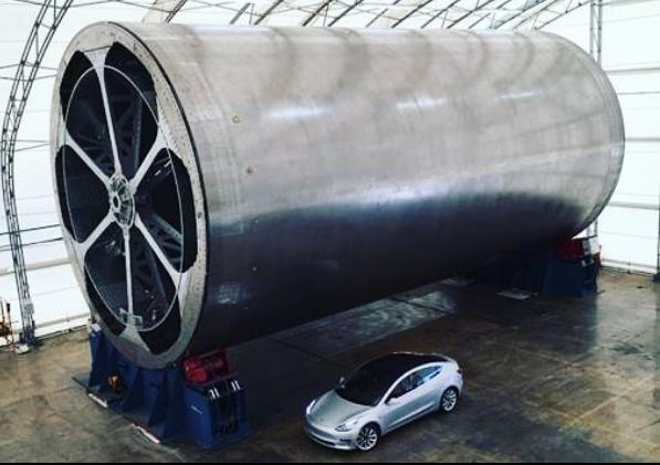 Equipamento da SpaceX reutilizável seria capaz de atingir a órbita da Terra em um único estágio (Foto: Reprodução/Instagram)
