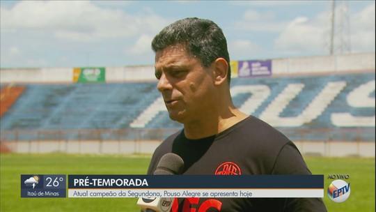 Com Rogério Henrique no comando, Pouso Alegre inicia pré-temporada nesta terça-feira