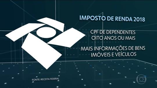 Receita espera receber 28,8 milhões de declarações do Imposto de Renda em 2018