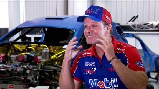 """Celebrando 7 anos na Stock Car, Rubens Barrichello vibra com boa fase: """"Encontrei a paz que queria"""""""