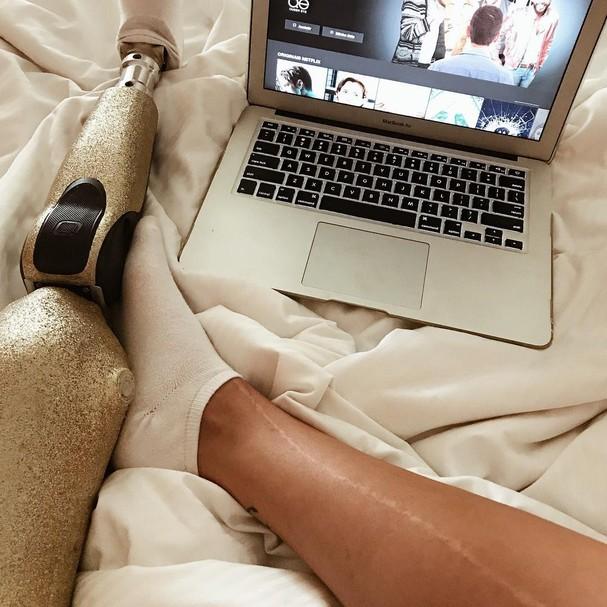 Paola Antonini é apaixonada por cinema (e a gente também!) (Foto: Instagram/Reprodução)