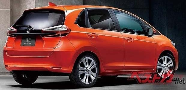 Honda Fit 2020 (Foto: reprodução bestcarweb)