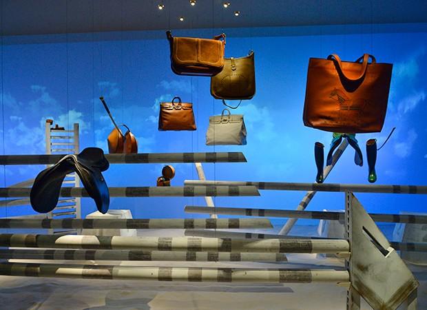 Exposição Leather Forever, da Hermès (Foto: João Sal/Divulgação Hermès  )