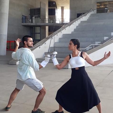 Carol Castro e Felipe Simas (Foto: Divulgação)