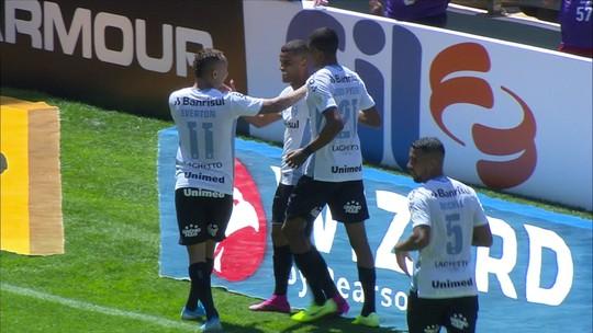 Os gols de Cruzeiro 1 x 4 Grêmio pela 18ª rodada do Brasileirão