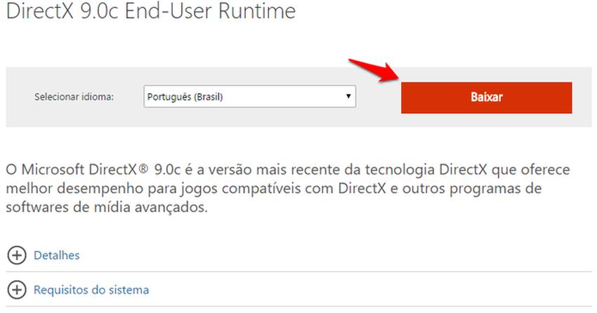 windows 10 directx 8.1 indir