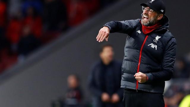 Jürgen Klopp, Liverpool, Atlético de Madrid, Liga dos Campeões