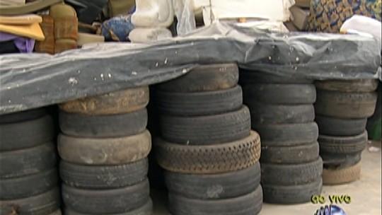 Ação contra o Aedes aegypti em Mogi recolhe pneus nesta semana