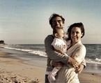 Guilhermina Guinle com a filha, Minna, e o marido, Leonardo Antonelli | Arquivo pessoal
