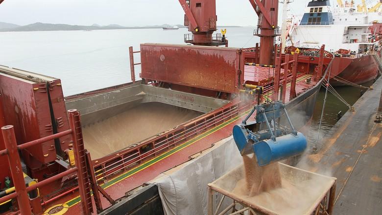 porto-cevada-malte-exportacao-importação-paranaguá (Foto: Portos do Paraná/Divulgação)