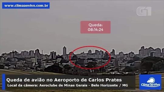 VÍDEO mostra aeronave decolando e caindo minutos depois