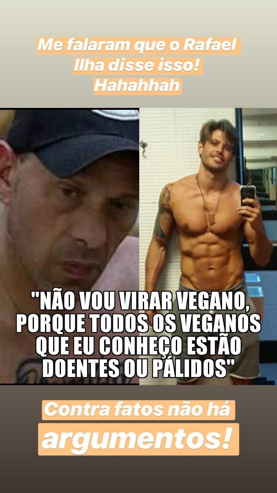Dadao Dolabella posta foto para rebater declaração de Rafael Ilha (Foto: Globo/João Miguel Júnior)