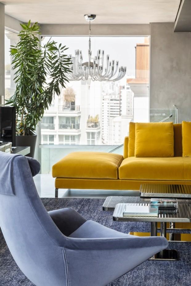 Após incêndio, apartamento em SP renasce com cores e diversão (Foto: Fran Parente)