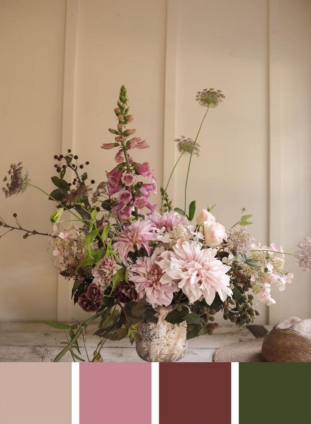 Flores e cores do casamento real mais esperado (Foto: PA/Divulgação/Reprodução)