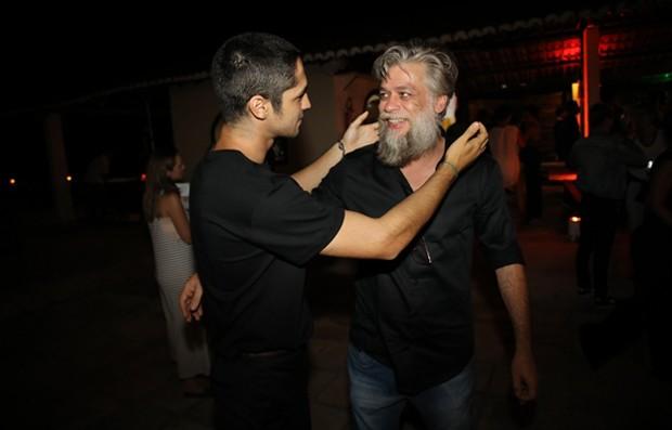 Gabriel Leone e Fábio Assunção  (Foto: Globo/João Miguel Júnior)
