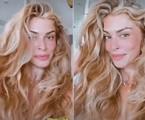 Grazi Massafera compartilhou foto do cabelo com aparência de grisalho | Reprodução