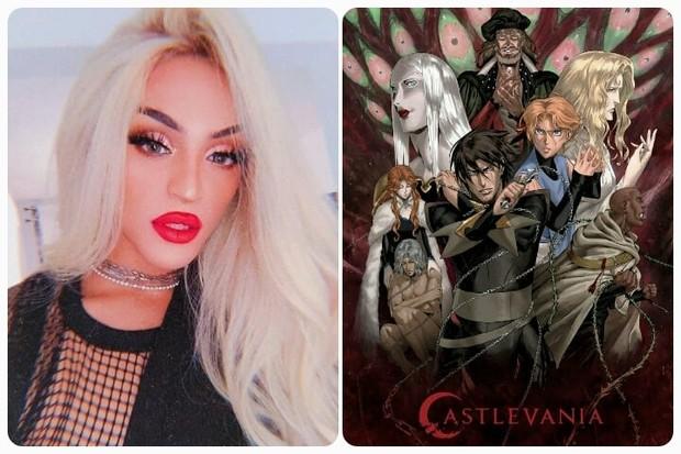 Pabllo Vittar recomenda Castlevania (Foto: Reprodução/Instagram)