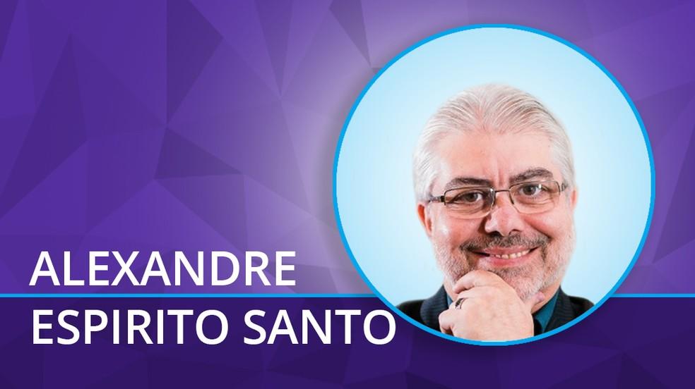 Alexandre Espirito Santo — Foto: Arte sobre foto de Divulgação
