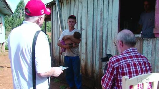 Missionários poloneses levam alegria e esperança para famílias de Cruz Machado
