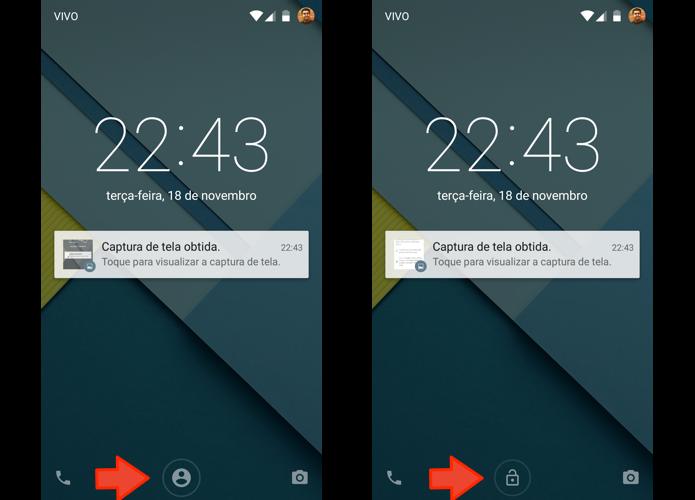 Desbloqueie o smartphone com sua face (Foto: Reprodução/Paulo Alves)