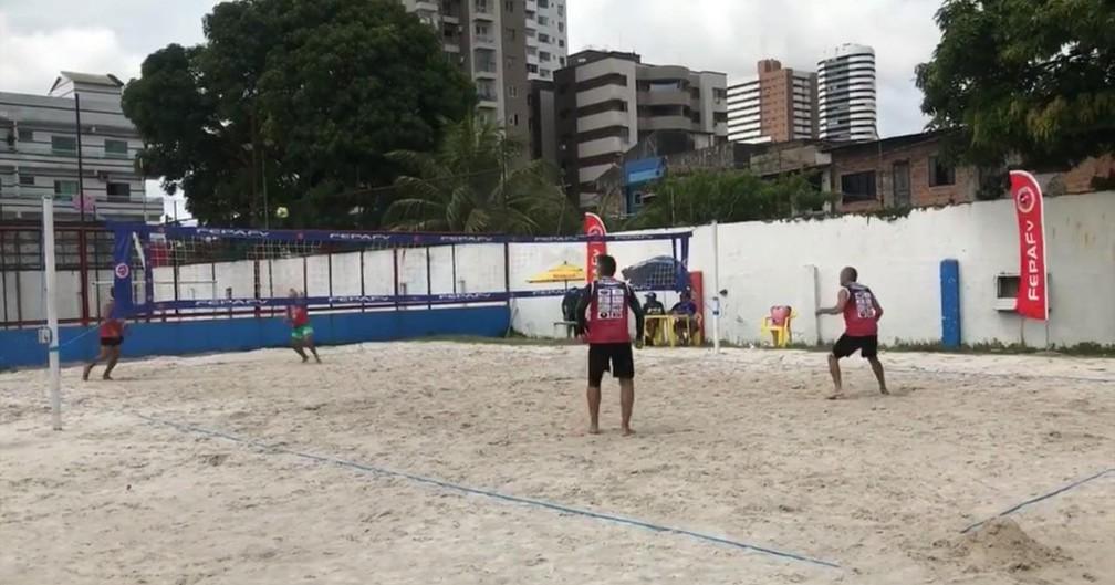 Torneio é organizado pela própria Federação Paraense de Futevôlei (Fepafv) — Foto: Divulgação/Fepafv