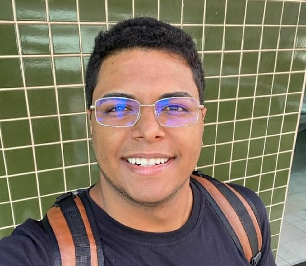 Isaac Filho morreu em um acidente 24h após ter a loja assaltada, em João Pessoa — Foto: Isaac Filho/Arquivo pessoal
