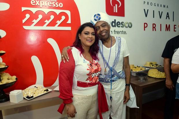 Preta Gil e Gilberto Gil (Foto: Leo Marinho/Divulgação)