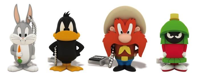 Emtec possui pen drives com várias opções de personagens (Foto: Divulgação/Emtec)