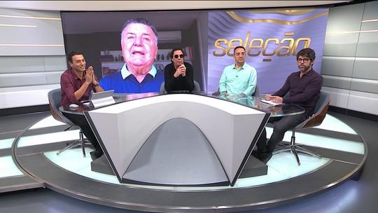 Arnaldo e comentaristas questionam bom senso do árbitro de Santa Fe e Flamengo