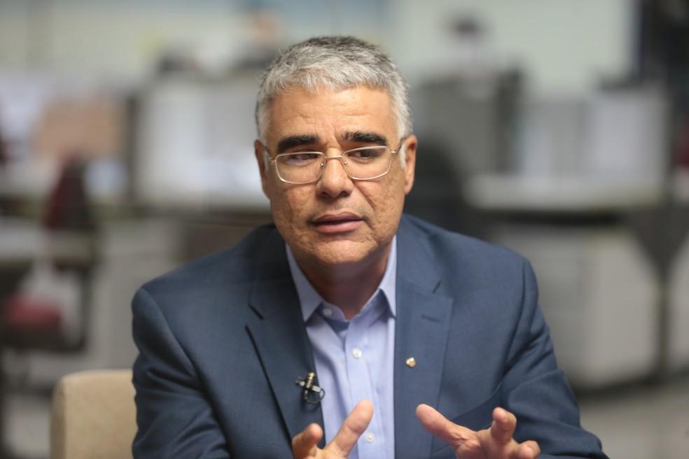 Candidato ao Senado Eduardo Girão — Foto: Agência Diário