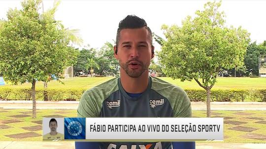 """Herói da classificação, Fábio lamenta poucas chances na Seleção: """"Não houve a mesma coerência"""""""