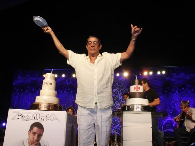 Zeca Pagodinho celebra seus 60 anos (Foto: Daniel Pinheiro e Wallace Barbosa/AgNews)