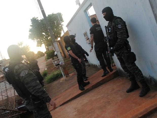 Operação Zona Leste segue em andamento na Grande Goiânia, Goiás (Foto: Divulgação/Derfvra)