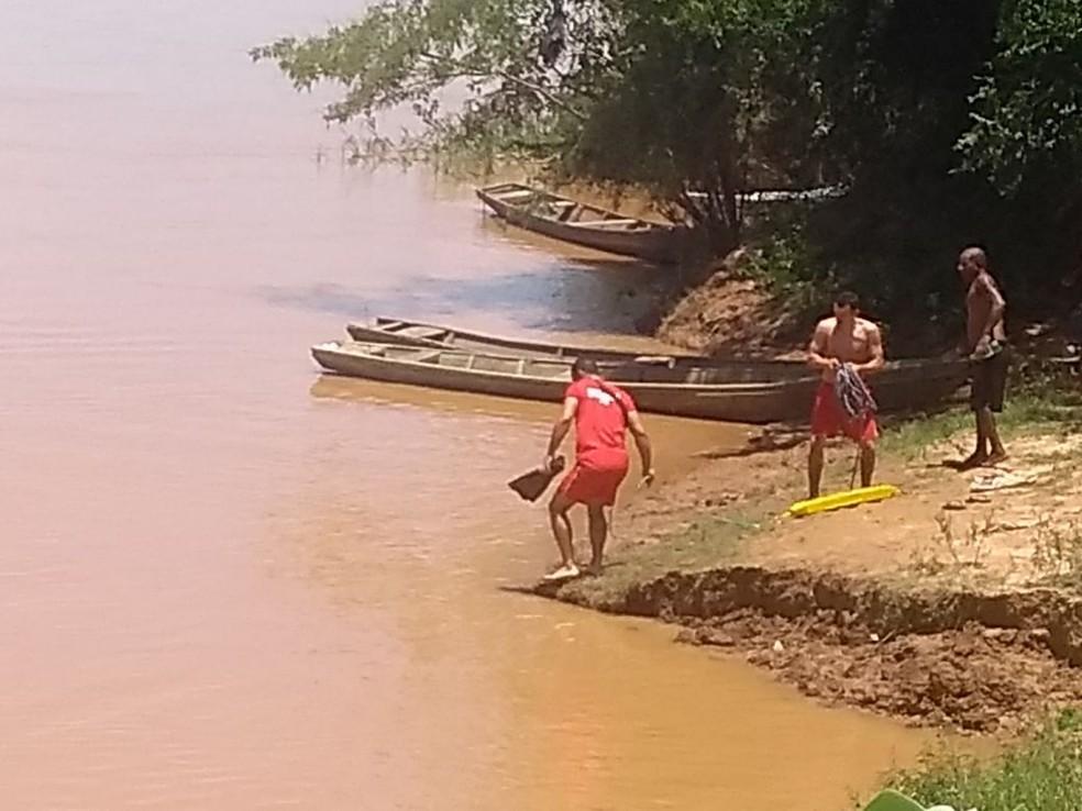 Bombeiros fizeram buscas desde o domingo (4) (Foto: Corpo de Bombeiros/Divulgação)