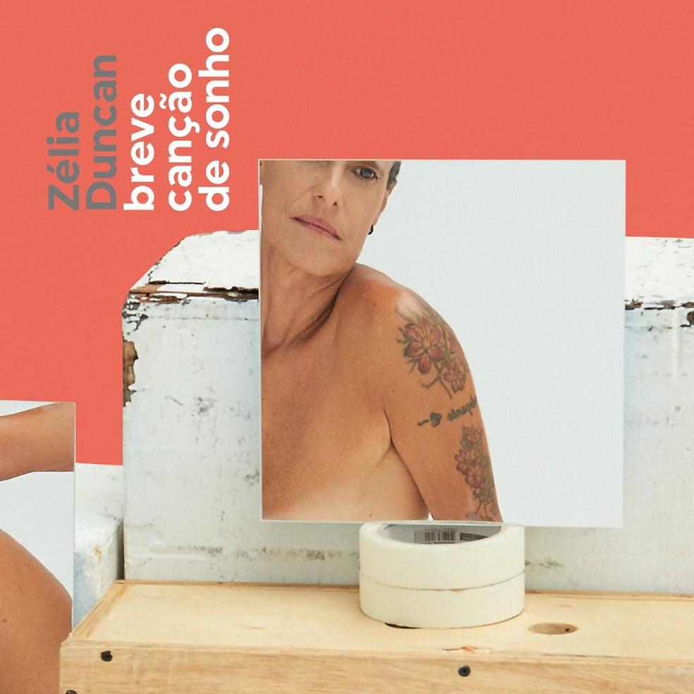 Capa do single 'Breve canção de sonho', de Zélia Duncan — Foto: Reprodução