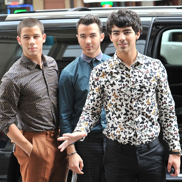 Nick, Joe e Kevin Jonas (Foto: Grosby Group)