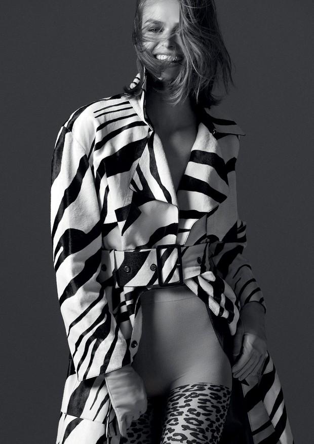 Trench coat, Roberto Cavalli (Foto: Mariana Maltoni)