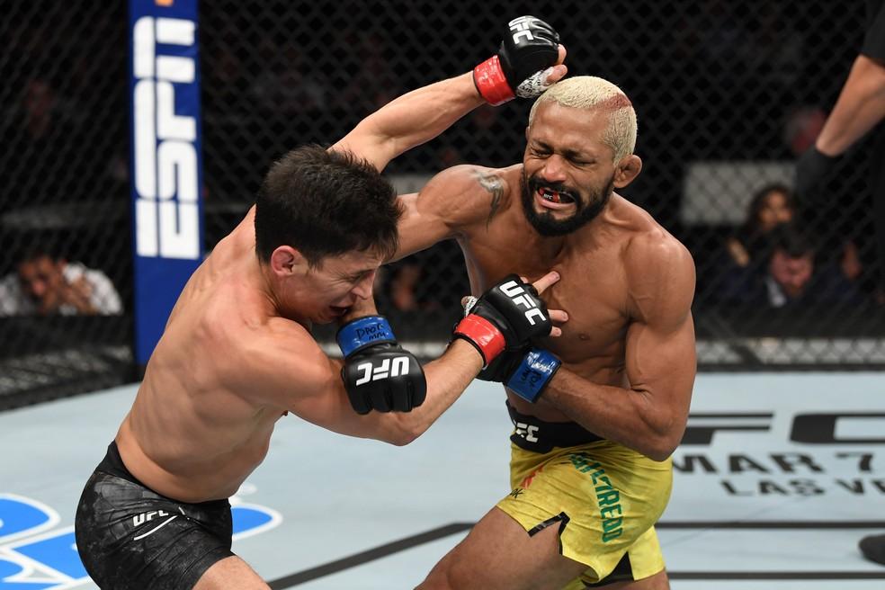 Deiveson Figueiredo Joseph Benavidez UFC Norfolk — Foto: Getty Images