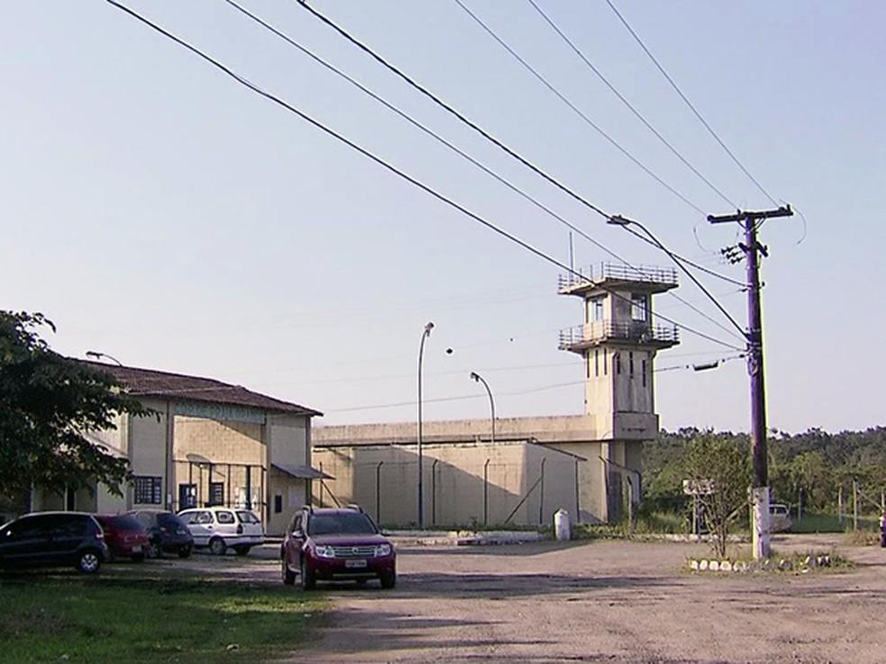 Caso ocorreu no Centro de Detenção Provisória (CDP) de Praia Grande, SP — Foto: Reprodução/TV Tribuna