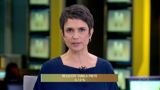ANTT autoriza aumento de 4,13% na tabela do frete