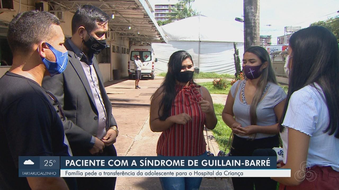 Família pede transferência de adolescente com doença rara internada no HE de Macapá