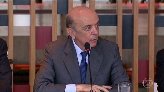 Suíça envia ao STF arquivos sobre suspeitas de caixa 2 contra Serra