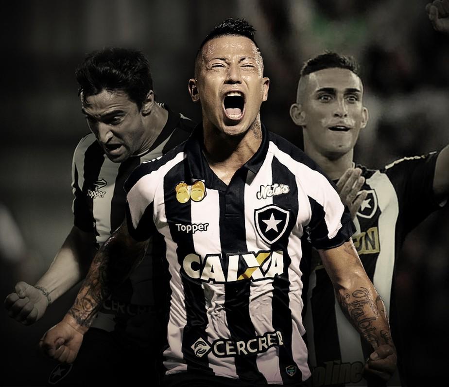 1a243d7ffc Gol do Botafogo! Leo Valencia cobra falta com categoria e amplia