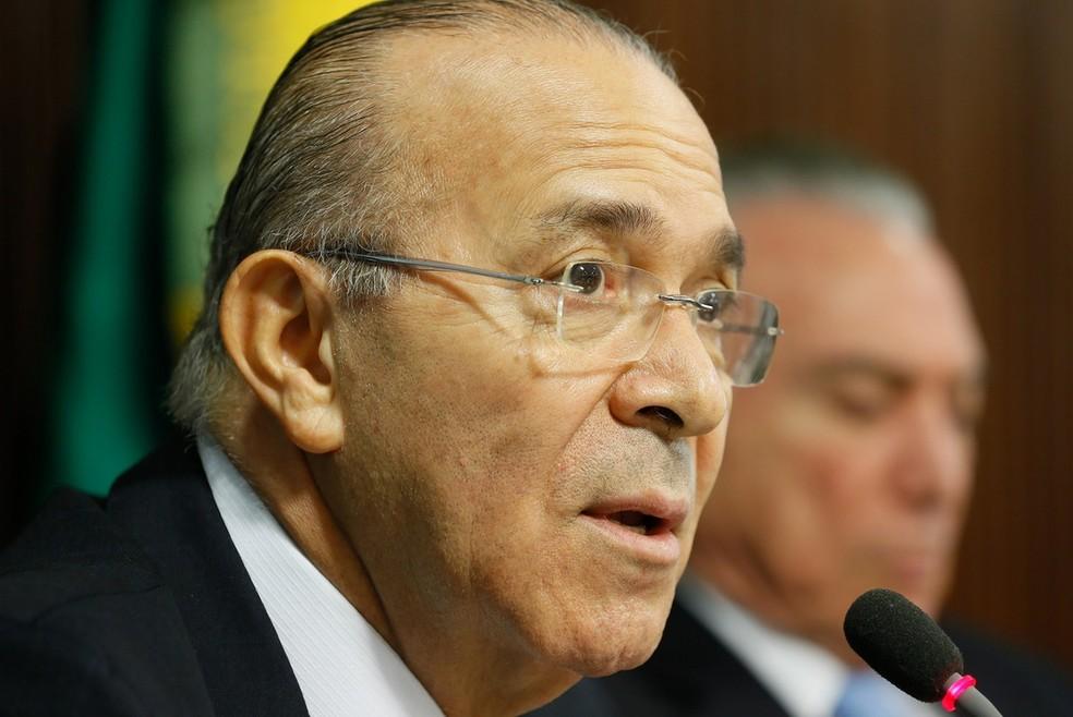 O ministro da Casa Civil, Eliseu Padilha (Foto: Beto Barata/PR)