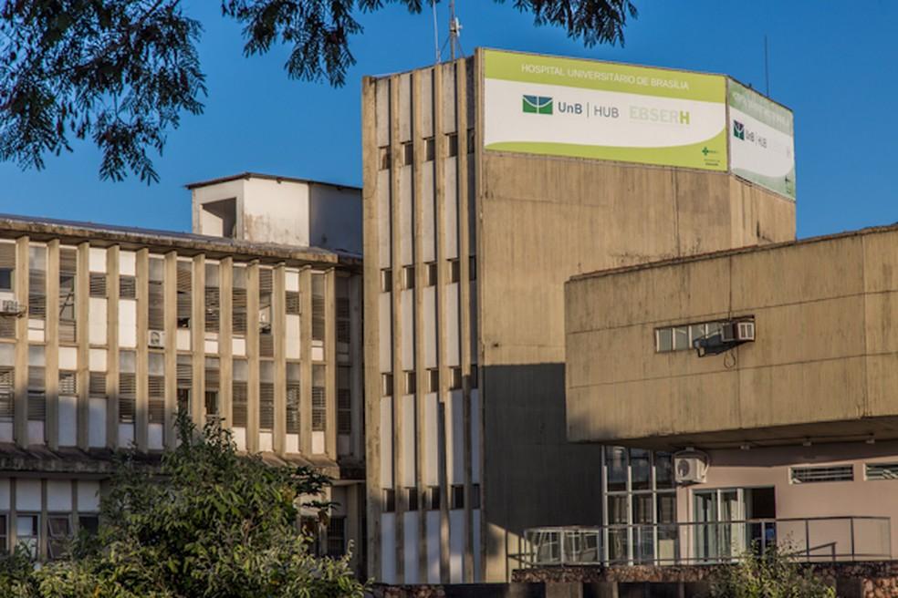 Hospital Universitário de Brasília (HUB) — Foto: Beto Monteiro/Secom UnB