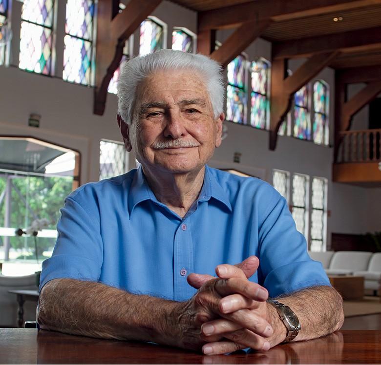 Ênio Monte, grandes selecionador  (Foto: Rogerio Albuquerque)