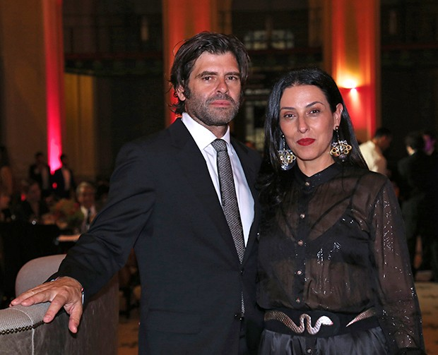 Fabrio Storrer e Helena Augusta (Foto: Denise Andrade e David Mazzo/ Divulgação)