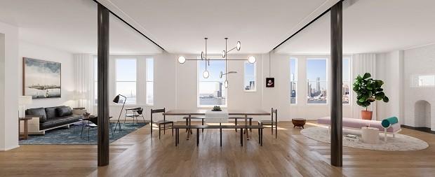 Matt Damon compra cobertura considerada a mais cara do Brooklyn por R$ 64 milhões  (Foto: Reprodução / The Standish)