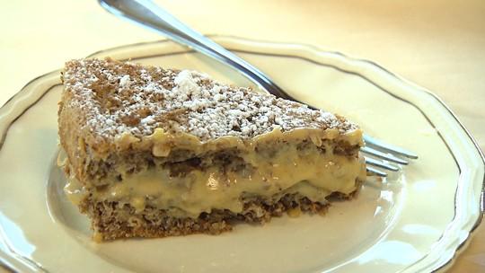 Prepare uma deliciosa torta de nozes