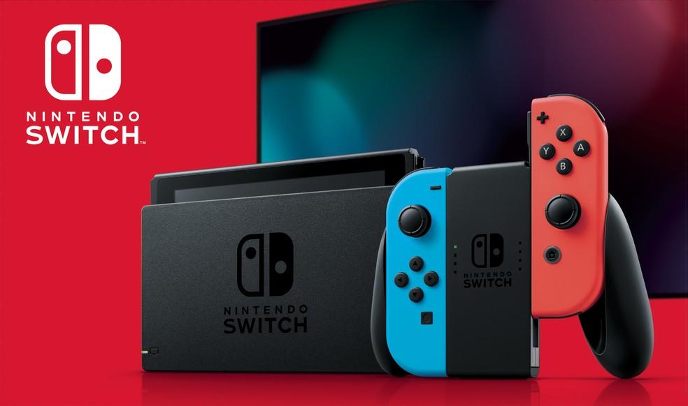 Nintendo Switch chega oficialmente ao Brasil em 18 de setembro por R$ 2.999 — Foto: Divulgação/Nintendo